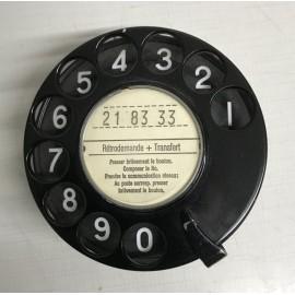 Telefon-Wählscheibe, Modell PTT