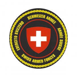 Schweizer Armee-Kleber
