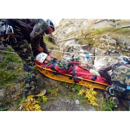 Postkarte: Grenadiere bei Kletterprüfung