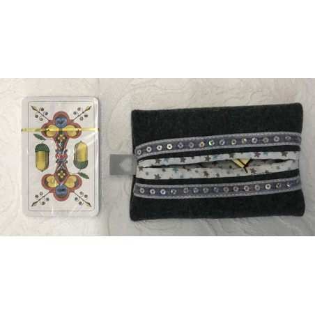 Jasskartenbox/Täschli aus alter Militärkleidung