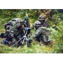 Schweizer Militar Postkarte A6 Infanterie Grenadiere Mit 8 1 Cm Minenwerfer