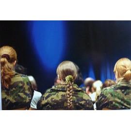 Postkarte: Frauen in der Armee