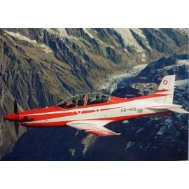 Postkarte: PC-21 Trainer