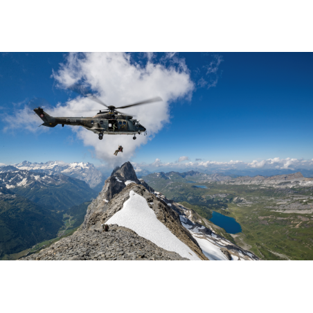 Transport-Helikopter Super Puma