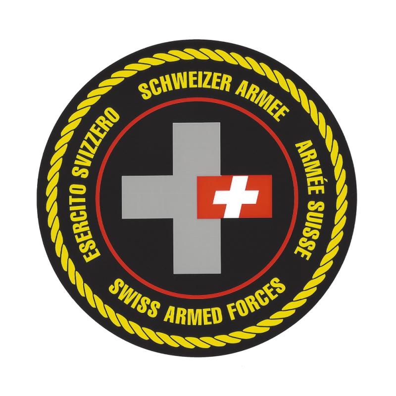 Aufkleber - Schweizer Armee - Schweizerkreuz