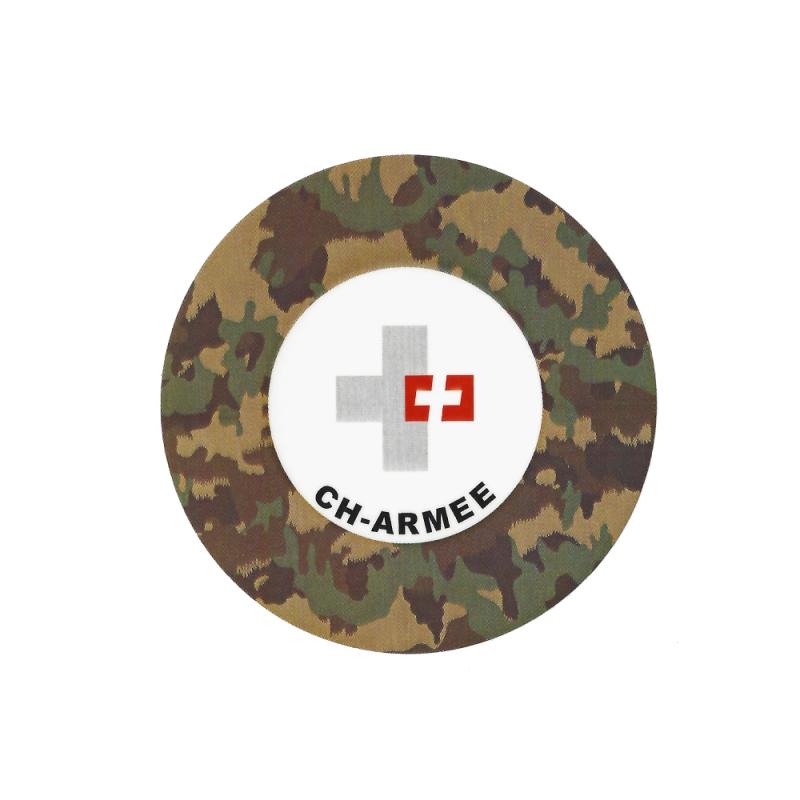 Aufkleber - CH-Armee - tarn