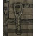Schlüsselanhänger Paracord Molle - oliv