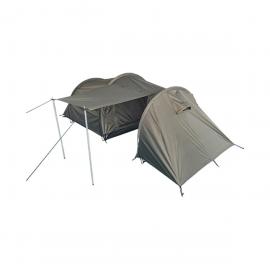 Zelt für 2 Personen mit Stauraum