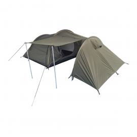 Zelt für 3 Personen mit Stauraum