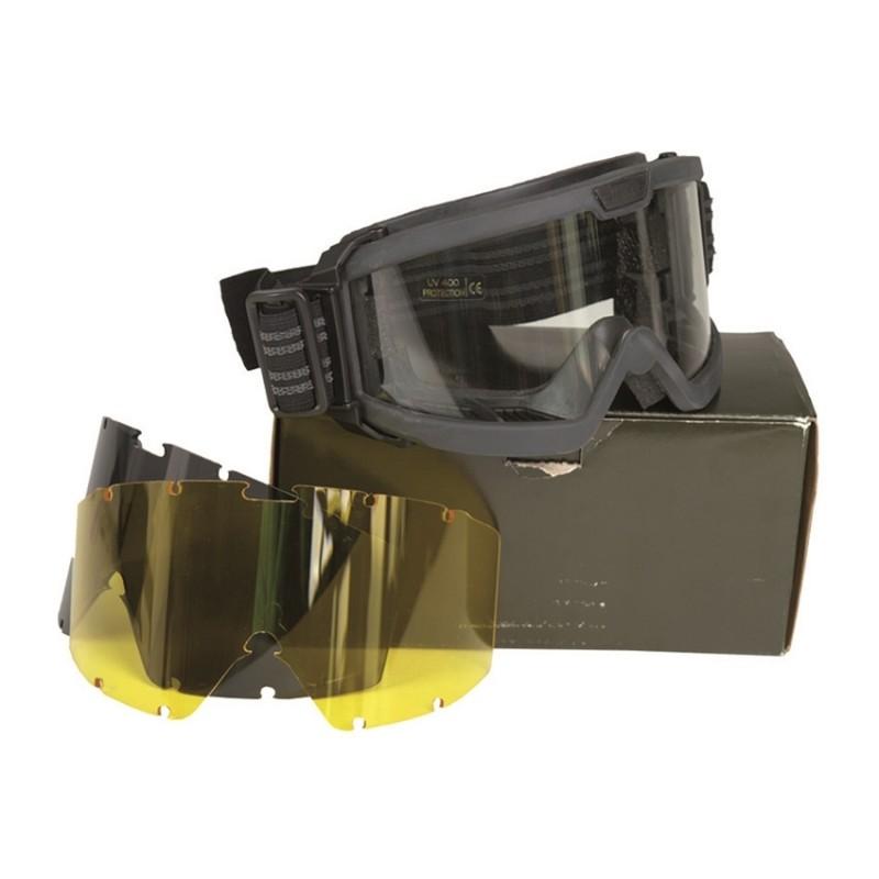 Tactical Brille - ANSI - schwarz