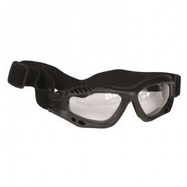 Kommando Brille - Air Pro - schwarz klar