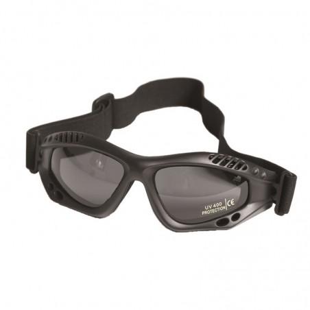 Kommando Brille - Air Pro - schwarz smoke