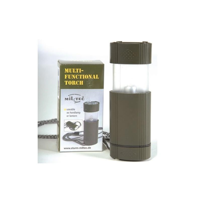 Mulitfunktionslampe, oval