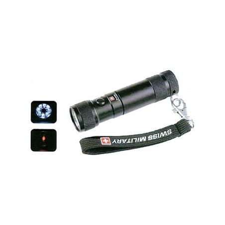 Swiss Military - Taschenlampe mit Laserpointer