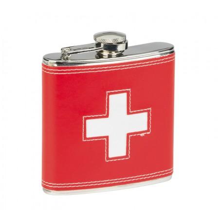 Taschenflasche - Schweizer Kreuz
