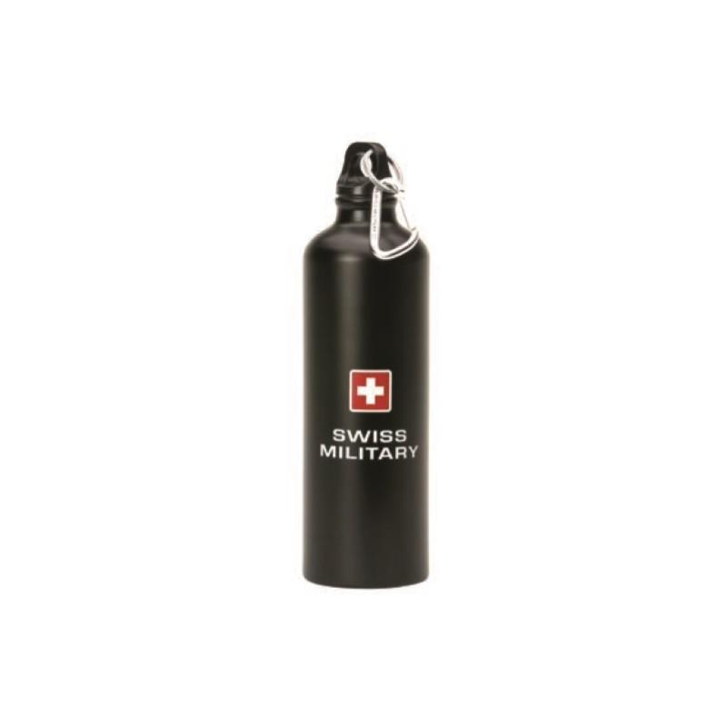 Swiss Military - Sportflasche - schwarz