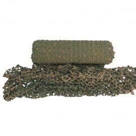 Tarnnetz - pro Laufmeter - grün/braun