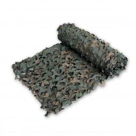 Tarnnetz - 3 x 3 m - mit Trägermaterial - grün/braun