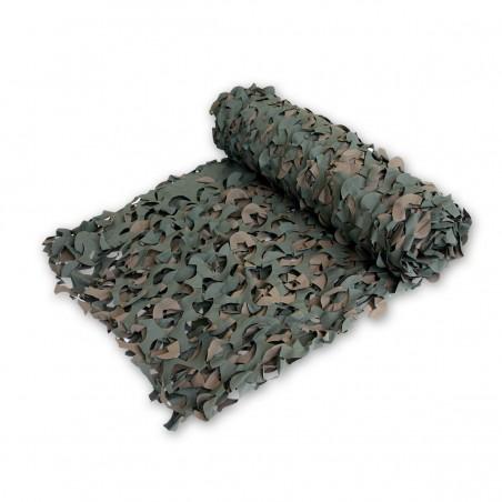 Tarnnetz - 2.4 x 3.0 m - grün/braun