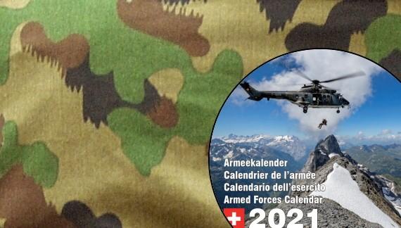 Der Armeekalender 2021 ist eingetroffen!